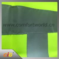 100% Polyester Geen Reflective Safety Vests with Tricot Fabric Design