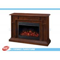 Quality Solid Wood Veneer Decorating Fireplace for sale