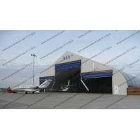 China Large Curve Tent / Curved Tent / Hanger for temporary aircraft maintenance / parking / Storage for sale