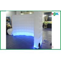 China Oxford Cloth Inflatable Air Tent White Wedding Inflatable Wall Inflatable Led Wall on sale