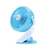 Wholesale Electric rechargeable min fan with led light,  cooling portable usb mini fan with 18650 battery powered from china suppliers