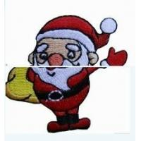 Wholesale Santa Claus Embroidery Patch (No. 8) from china suppliers