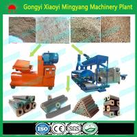 Wholesale CE approved No binder biomass wood sawdust rice husk briquette making machine from china suppliers