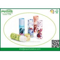 Wholesale High End Paper Lip Balm Tubes Durable , Elegant Design Paper Chapstick Tubes from china suppliers