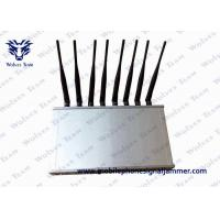 12 Band Desktop Phone Signal Blocker Jammer Compatible With ICNIRP Standards