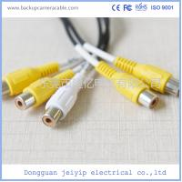 Wholesale 13 Pin DC Connector Backup Camera Cable Socket To DC BNC RCA Cable Connector from china suppliers
