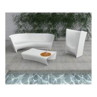 Buy cheap Modern Style LED Table And Chairs Outdoor Swimming Pool Furniture Set Easy Clean from wholesalers