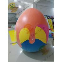 Wholesale Oxford Advertising Inflatable Easter Egg / Custom Made Inflatables Easy Set Up from china suppliers