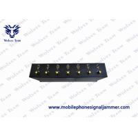 17W Low Power Multi-Band Signal Jammer CDMA GSM / PCS 3G / UMTS GPS UHF VHF 4G LTE / Wimax Optional