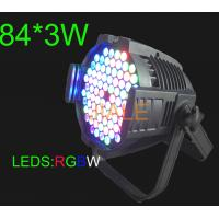 Wholesale Fusion Quality LED Parcan / 3W / RGBW / Waterproof IP20 DMX Stage Lighting from china suppliers