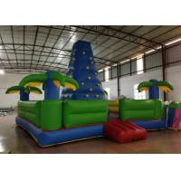 Wholesale Durable Inflatable Rock Climbing Wall Trees Digital Printing 7 X 7m Safe Nontoxic from china suppliers
