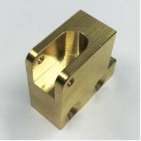 Wholesale Professional Brass Machined Components CNC Brass Block For Boat Parts from china suppliers