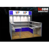 Buy cheap Recyclable Modular Exhibits , Aluminum Frame Exhibition Display Stand from wholesalers