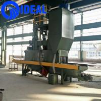 Buy cheap Connecting plate small type shot blasting machine for surface improving from wholesalers