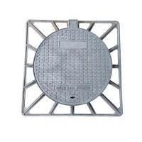 Wholesale BS EN124 Cast Ductile Iron Manhole Cover GGG500-7 With Frame For Construction from china suppliers