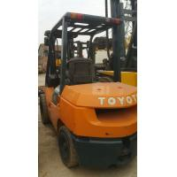 Wholesale Japanese TOYOTA diesel Engine forklift used diesel forklift 3ton (FD30) 7t, 15t forlift from china suppliers