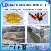 Wholesale Industrial chewing and Jam Center Pet Food Processing Line from china suppliers
