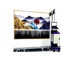 Wholesale 120w 720X2280DPI 12㎡/h Automatic Wall Inkjet Printer from china suppliers