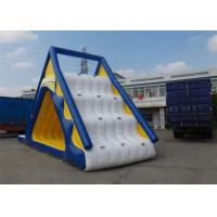 Wholesale EN14960 Giant Outside Children Inflatable Floating Water Slide Rental from china suppliers