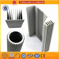 China Silver White Industrial Powder Coated Aluminium Extrusions Heat Insulation for sale