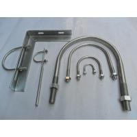 China Galvanized pipe clamp    ,U type pipe clamp on sale