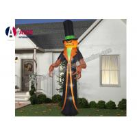 Buy cheap 3M Airblown Halloween Inflatable Ghost Pumpkin Man Factory Supplier in China from Wholesalers