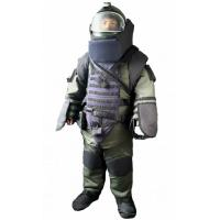 32.7Kg EOD Bomb Disposal Suit With Spine / Neck / Chest Protection Flamer - Resistant for sale