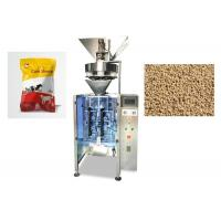 Wholesale Vertical Granule Packing Machine For Fertilizer / Rice / Beans 220V Input from china suppliers