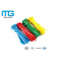 Wholesale Self Locking Nylon Cable Ties Fire Resistance With CE , UL Certification from china suppliers