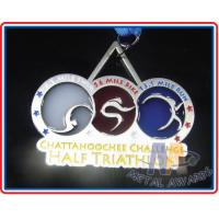 Buy cheap Commemorative Novelty Coolest Race Medals , Durable Kids Sports Medals from wholesalers