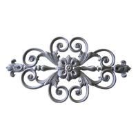 Wholesale Decorative Cast Iron Fence Parts / Rosettes Ornament Cast Iron Gate Panels from china suppliers
