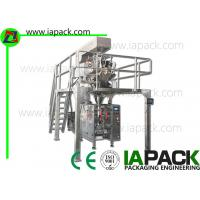 Wholesale 3KW Dried Fruit Bag Packing Machine Form Fill Seal For Gusseted Bag from china suppliers