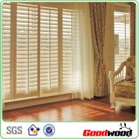 Buy cheap Bespoke Shutter Window Louver Beautiful Paint Blind Componets from wholesalers