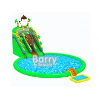 Wholesale Cartoon Jurassic Inflatable Water Park Jungle Inflatable Aqua Park CE Certificate from china suppliers