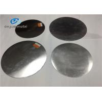 China Bright Dip CC Aluminum Circles 1050 Width 300mm Temper O - H112 Round Aluminum Sheet on sale