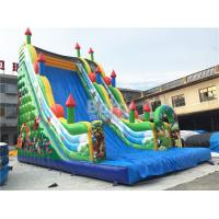 Wholesale 11X6X9m Commercial Inflatable Slide , PVC Tarpaulin Blow Up Jumping Castle from china suppliers