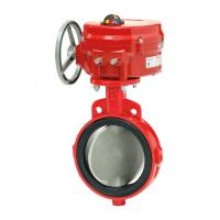 Quality Silicon Resilient Seated Butterfly Valves , 1 '' - 54 '' Fluid Control Seal Seat for sale
