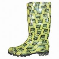 Wholesale Ladies PVC Wellington Boots, Size of 35 to 41 from china suppliers