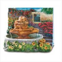 China Home Decoration Resin Craft Water Fountain Garden Foutain on sale