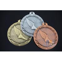 Buy cheap 3d Effect Custom Engraved Medals With Antique Gold Silver Copper Plating from wholesalers