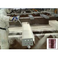 Milk White Steel Intumescent  Water Based Paint  3 Hrs Drying , Water Based Wall Primer for sale