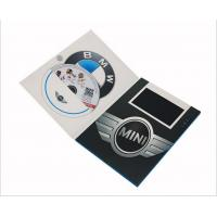 Wholesale Promotion Digital Video Brochure With Sleeve Pocket / Pharmacy Video In Print Brochure For Christmas from china suppliers