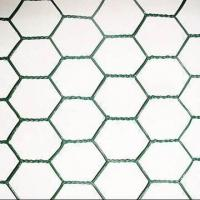 China Pvc hexagonal wire netting oxidation - resisting for window , gardens on sale