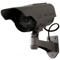 China Indoor/Outdoor CCTV Mock Security Cameras with infrared lights, Solar Powered DRA62 on sale