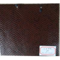 Wholesale Flocked PU Coated Leather Genuine Leather Handfeeling for Bags, Notebook, Furniture from china suppliers