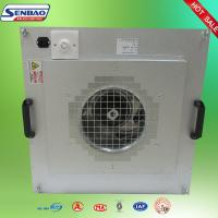 China Stainless Steel HEPA Fan Filter Unit Air Cleaning Equipment For Air Purifiers on sale