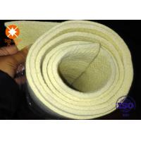 Quality 480 Degree C Yellow Heat Resistance Felt Strip Roll Make-to-order Size Industry for sale