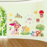 Wholesale 3-D Wall Decoration Stickers, Made of Non-toxic and Art Paper, Easy to Apply and Remove from china suppliers