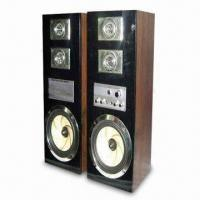 Wholesale 2.0CH Computer Speaker with 3.5mm Stereo Input, 70W Output Power and 4Ω Impedance from china suppliers