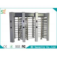 Wholesale Manual Operation Full Height Turnstiles Double Lanes Automatic Reset from china suppliers